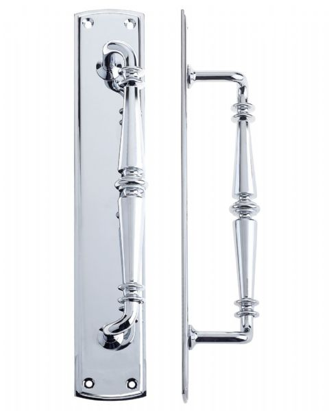 Fulton & Bray FB106 Pull Handle- Polished Chrome